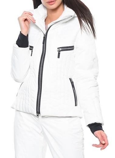 Panthzer  Javer Kadın Kayak Montu Beyaz